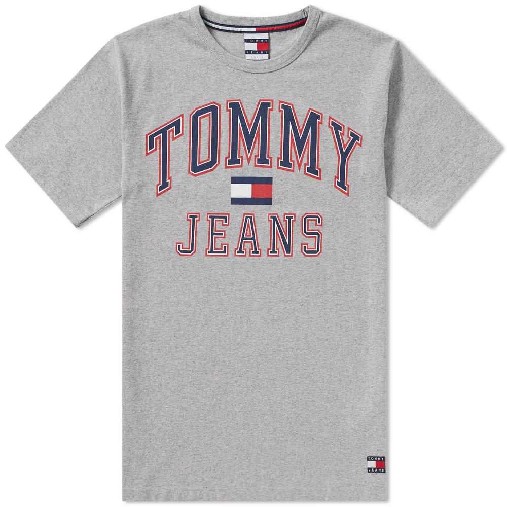 3fb0097d6 Tommy Jeans 90s Flock T Shirt White - raveitsafe