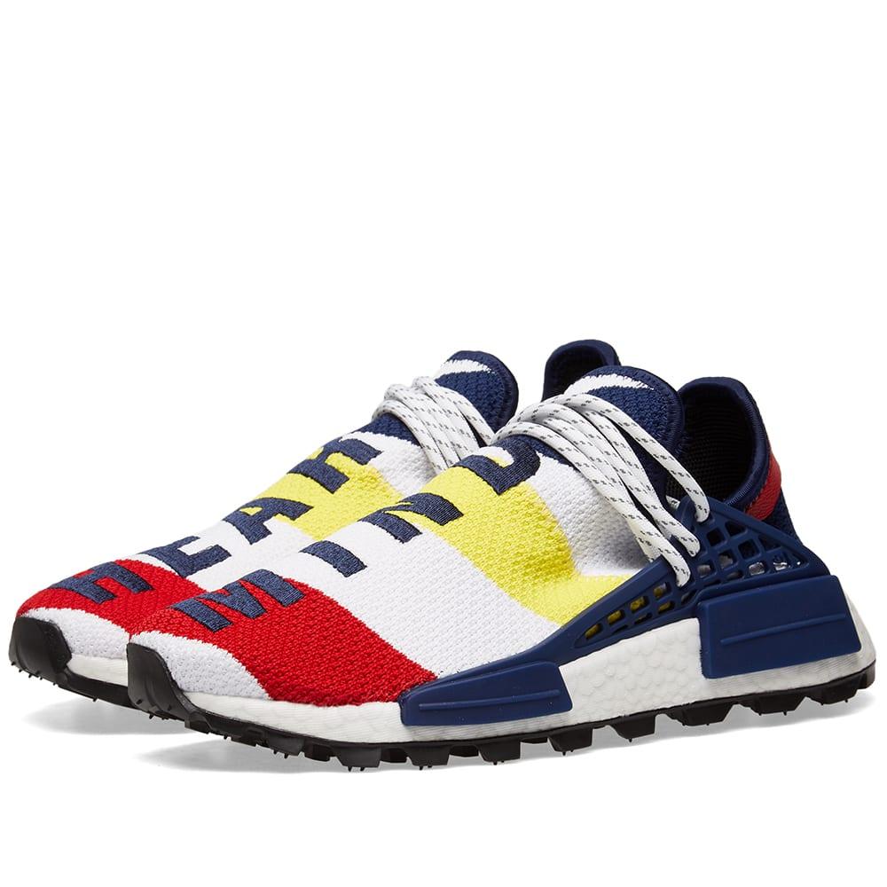 a28255e3671d5 Adidas Consortium x Billionaire Boys Club NMD HU White