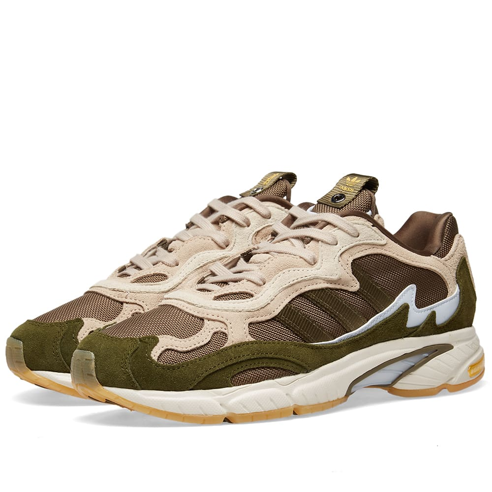 ab2547b86 Adidas Consortium x Saint Alfred Temper Run Clear Brown