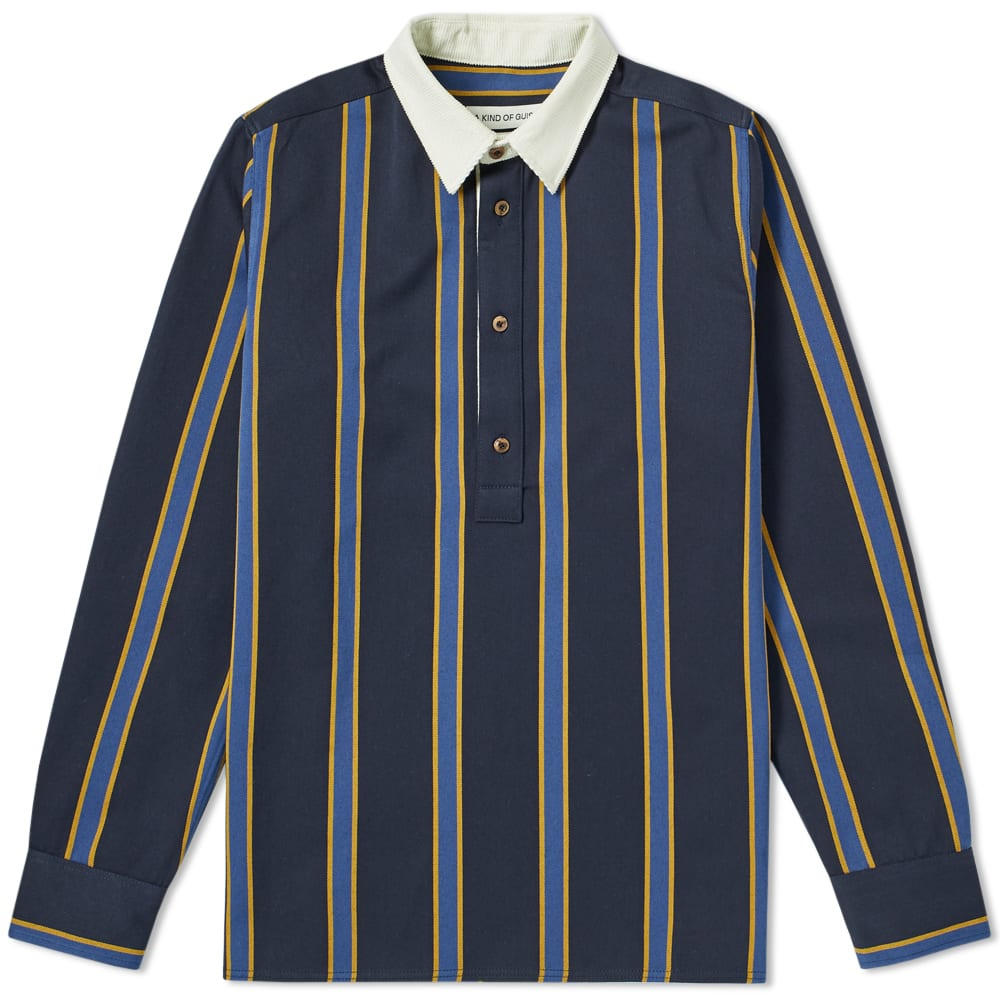 A KIND OF GUISE A Kind Of Guise Cho Rugby Shirt in Blue