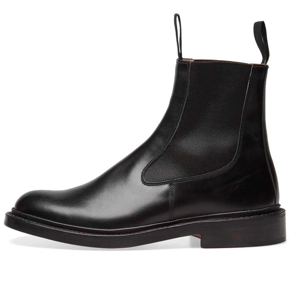 c9df25a16d81 END. x Tricker s Stephen Chelsea Boot Black Calf