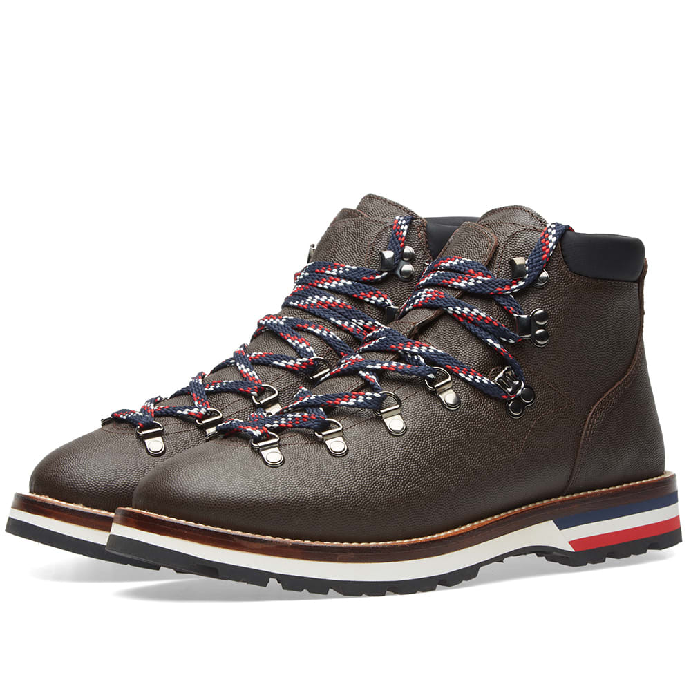 fe58baf9c3f Moncler Peak Leather Hiking Boot