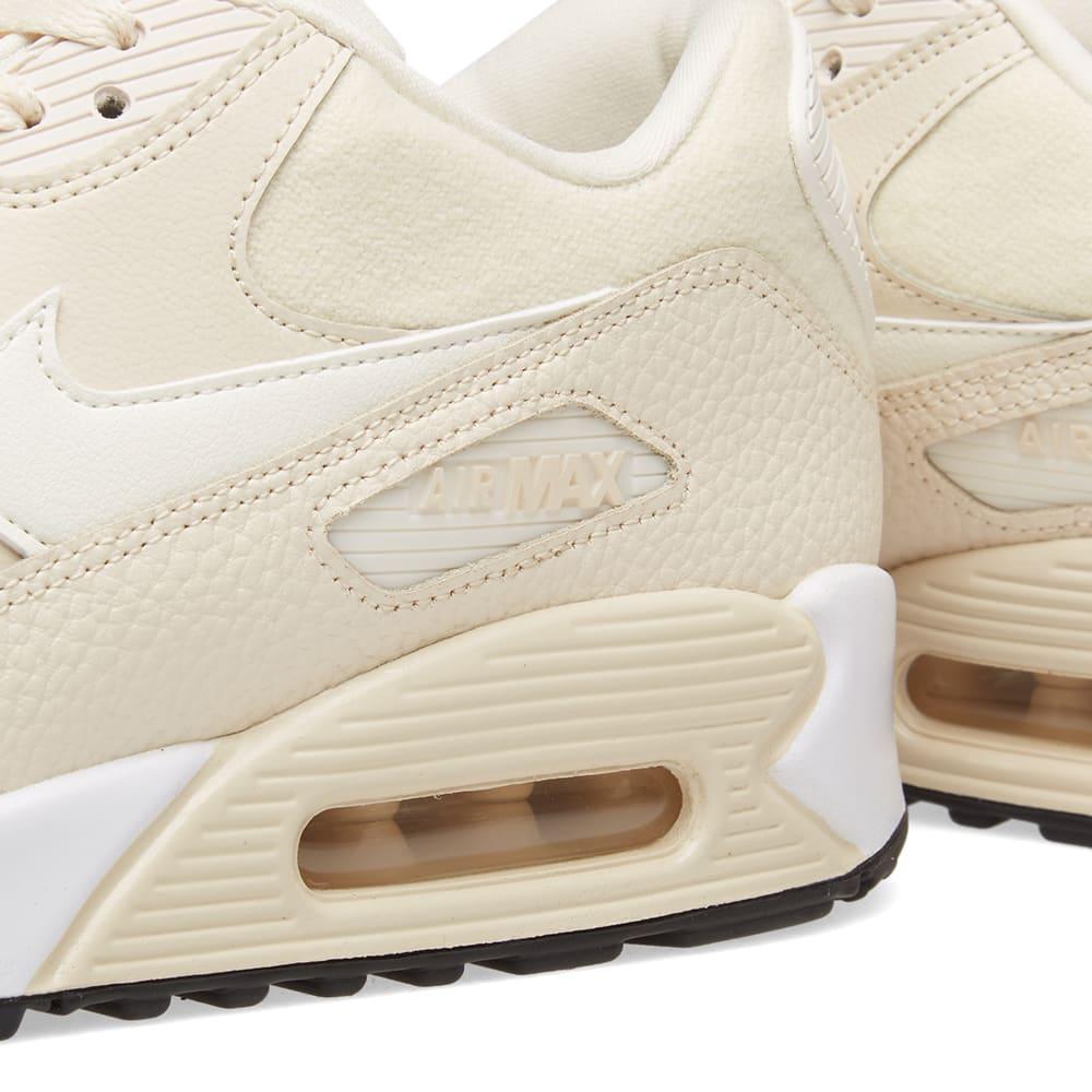 buy online 026c0 e8489 Nike Air Max 90 W Light Cream, Sail   Black   END.
