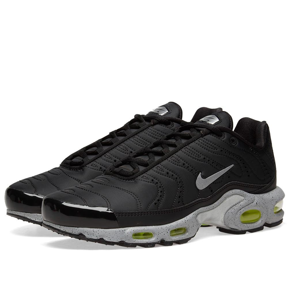 more photos 7d34e 96314 Nike Air Max Plus PRM Black, Matte Silver   Volt   END.
