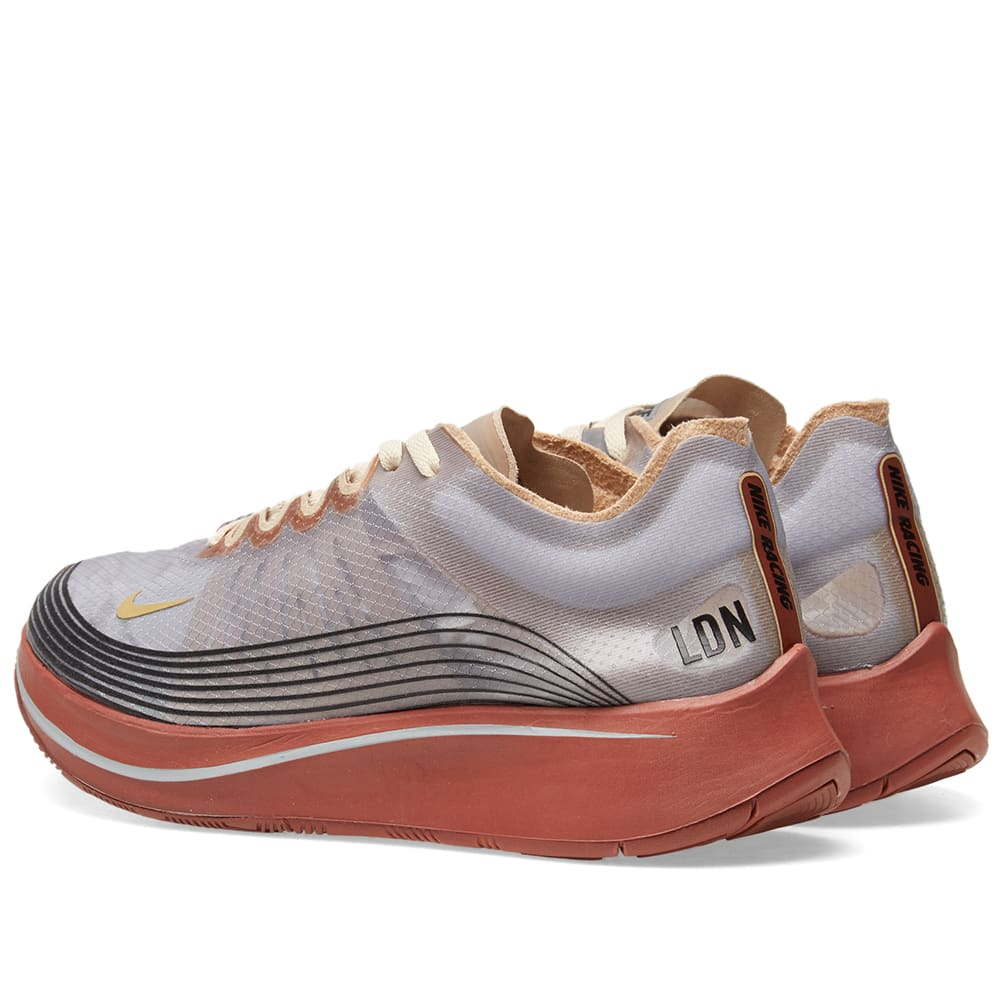 huge selection of 57381 7b1a8 Nike Zoom Fly SP  London  Grey, Gold   Desert Ore   END.