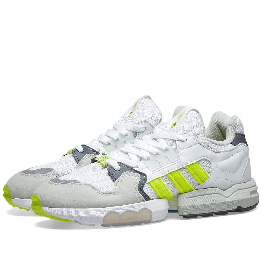 Adidas Consortium Adidas X Footpatrol Zx Torsion In White