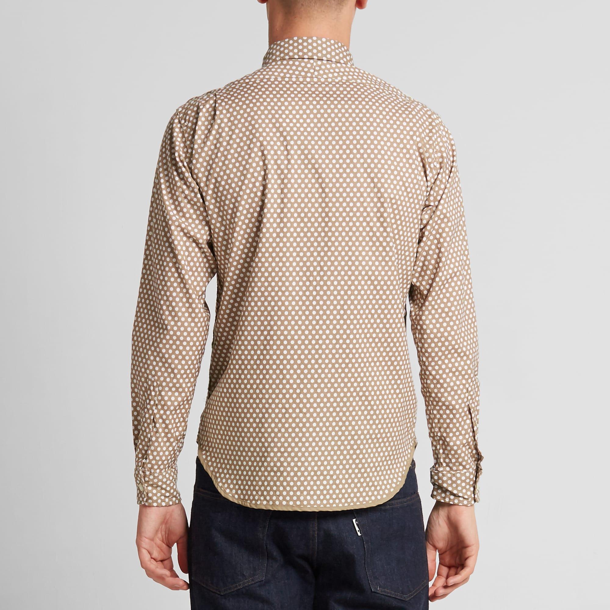 Rough & Tumble Polka Dot Panel Shirt