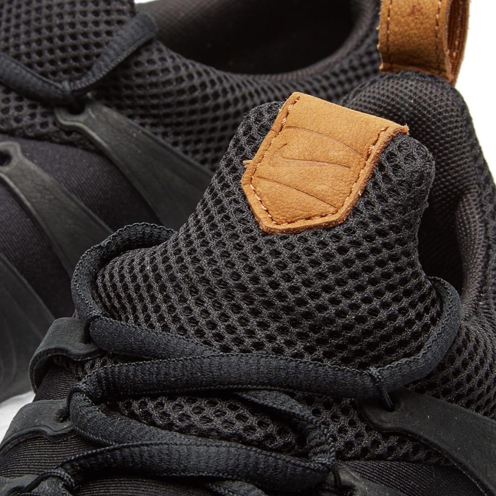 b3d8d4a74d11e Nike Air Zoom Spirimic QS Black
