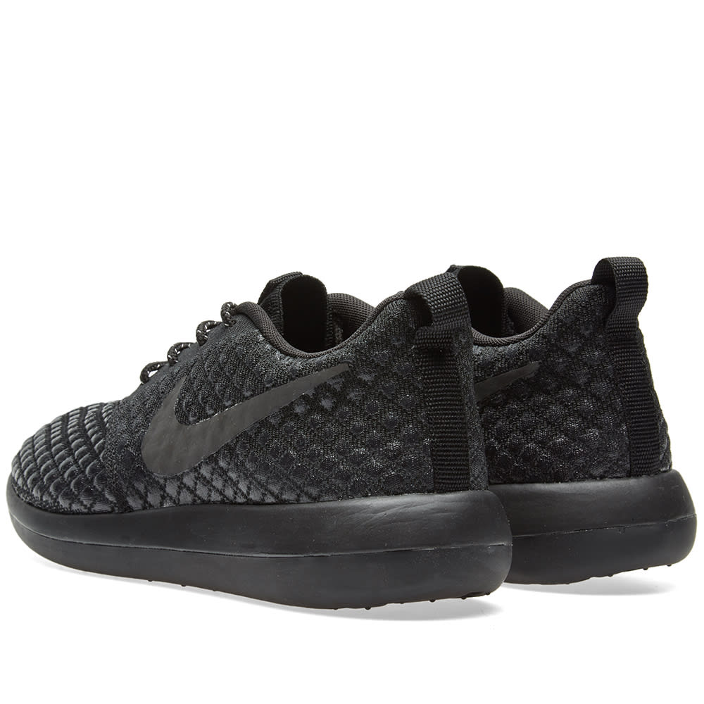 cheap for discount be7fc 4fb69 Nike Roshe Two Flyknit 365 Black   Black   END.