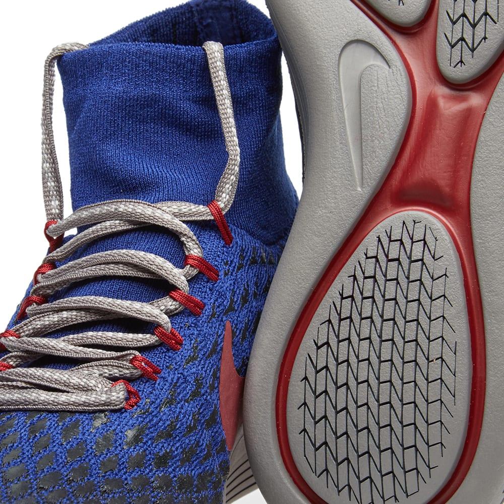 fbd95371a917 Nike x Undercover Gyakusou LunarEpic Flyknit Shield Deep Royal Blue   Team  Red
