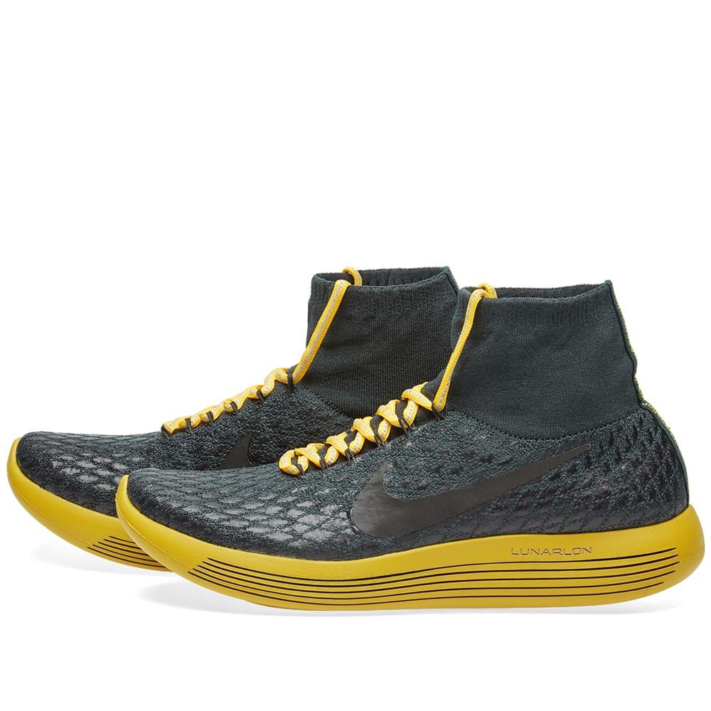 best service 8129d 5c637 Nike x Undercover Gyakusou LunarEpic Flyknit Shield Seaweed, Black   Gold    END.