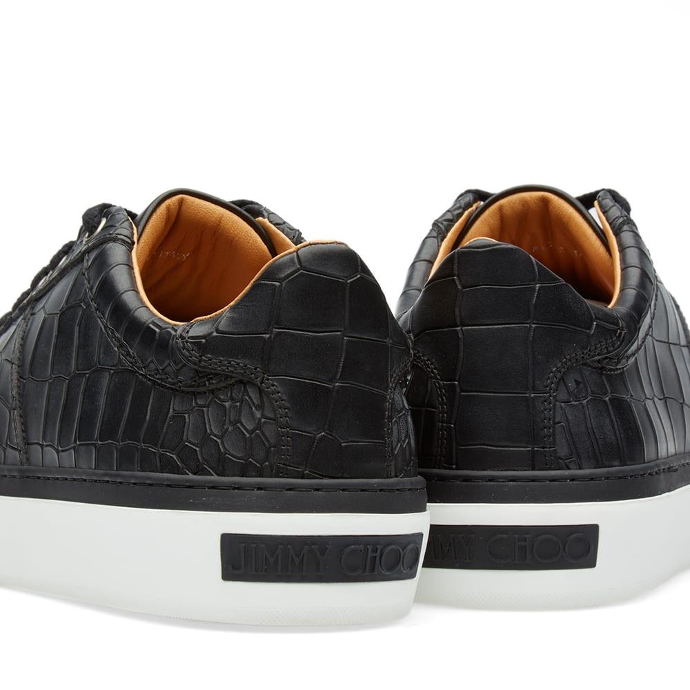Jimmy Choo Portman Sneaker Black