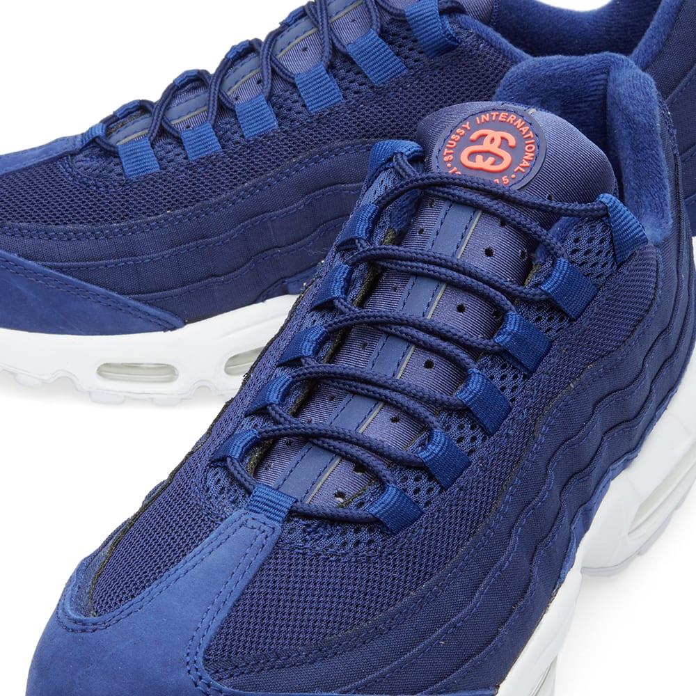 nike air max 95 stussy loyal blue