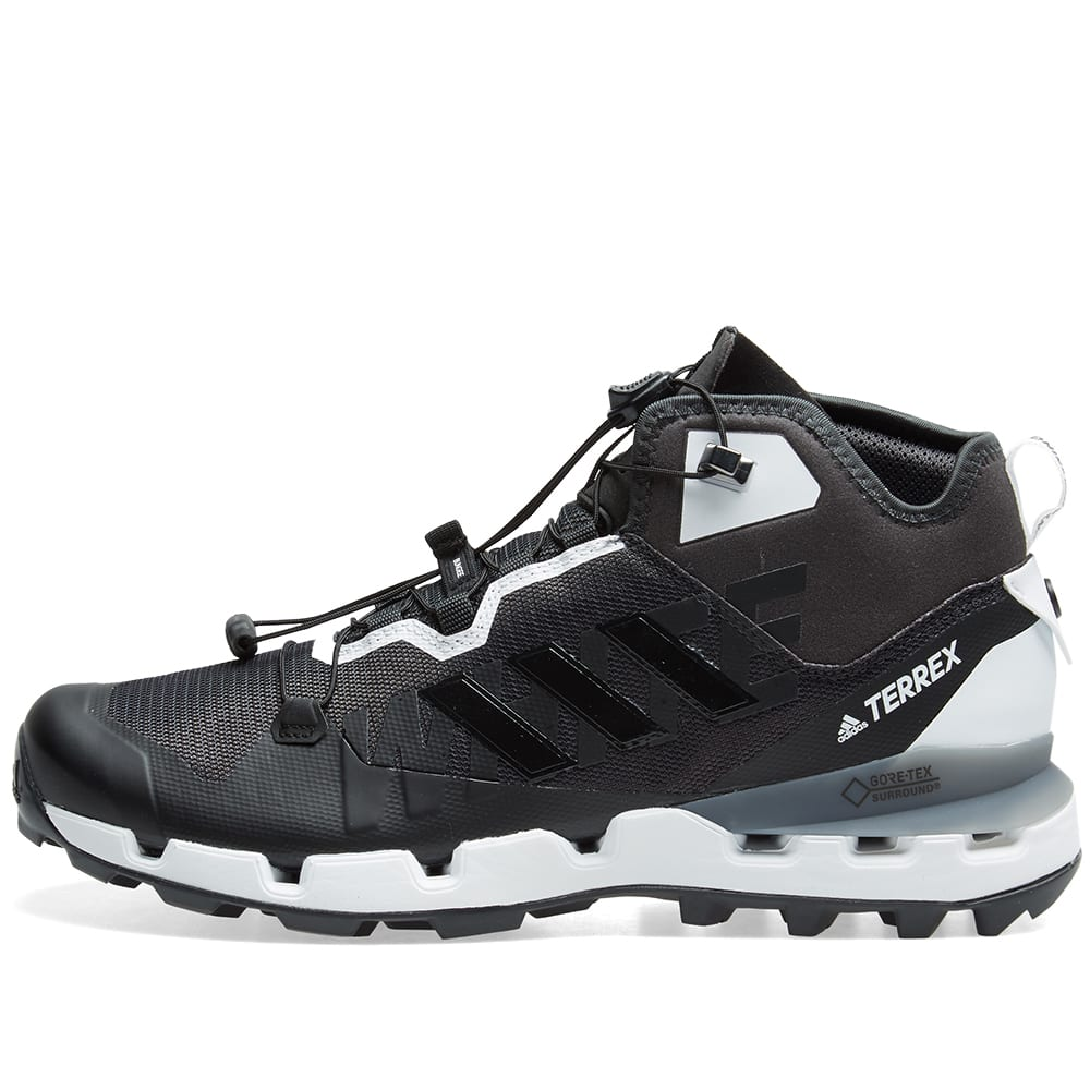 huge discount 61a58 7c4df Adidas x White Mountaineering Terrex Fast GTX-Surround Black   White   END.