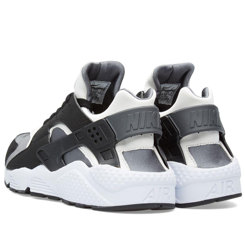 info for 4c2ed 26395 Nike Air Huarache Run Black, White   Dark Grey   END.