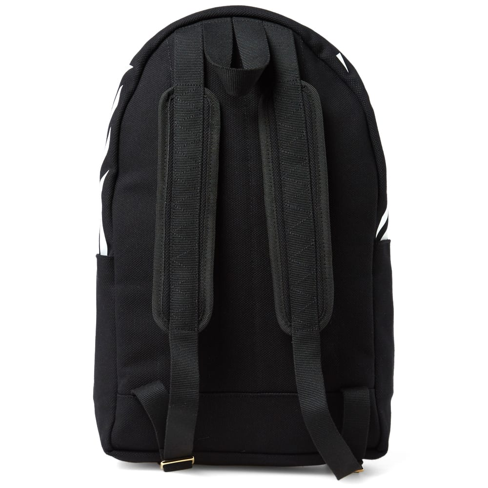 off white canvas backpack black. Black Bedroom Furniture Sets. Home Design Ideas