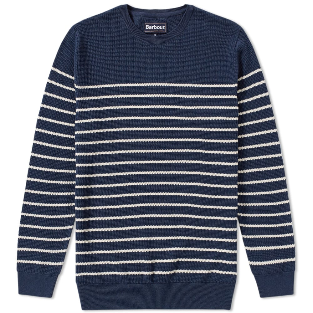 Barbour Current Stripe Crew Knit