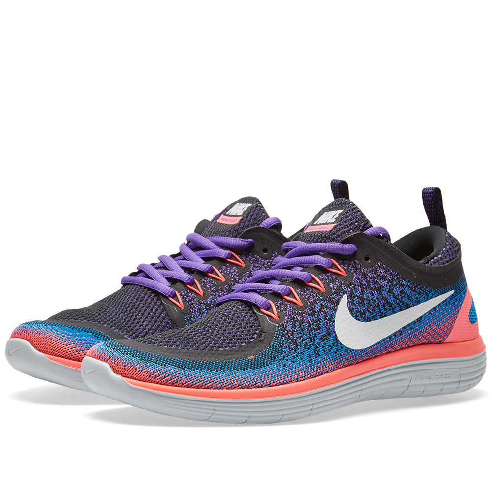 nike free run distance 2 hyper grape white. Black Bedroom Furniture Sets. Home Design Ideas