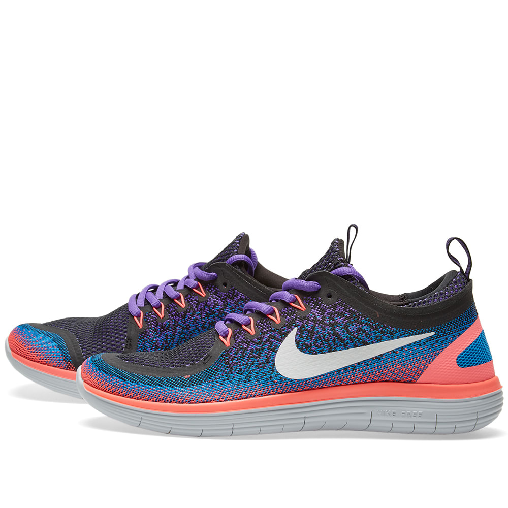 reputable site 002f2 65124 Nike Free Run Distance 2 Hyper Grape   White   END.