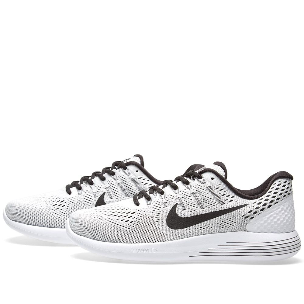 pretty nice 45ab4 402cc Nike LunarGlide 8 White   Black   END.