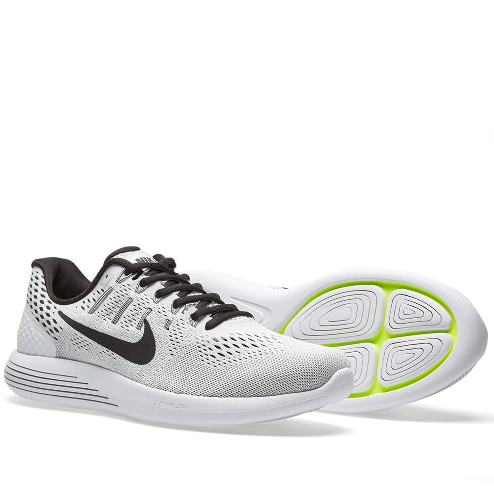 pretty nice e8093 99451 Nike LunarGlide 8 White   Black   END.
