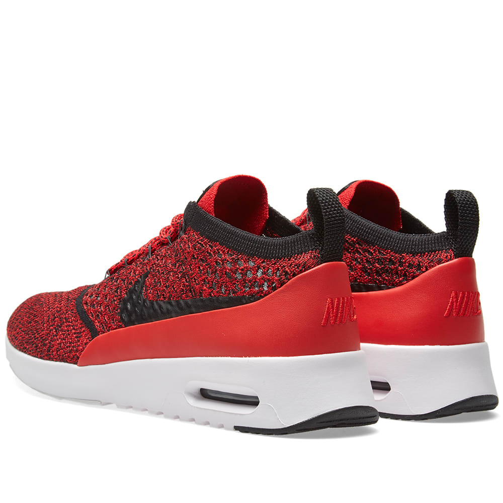 e1a0aaecb1 Nike W Air Max Thea Flyknit University Red, Black & White | END.