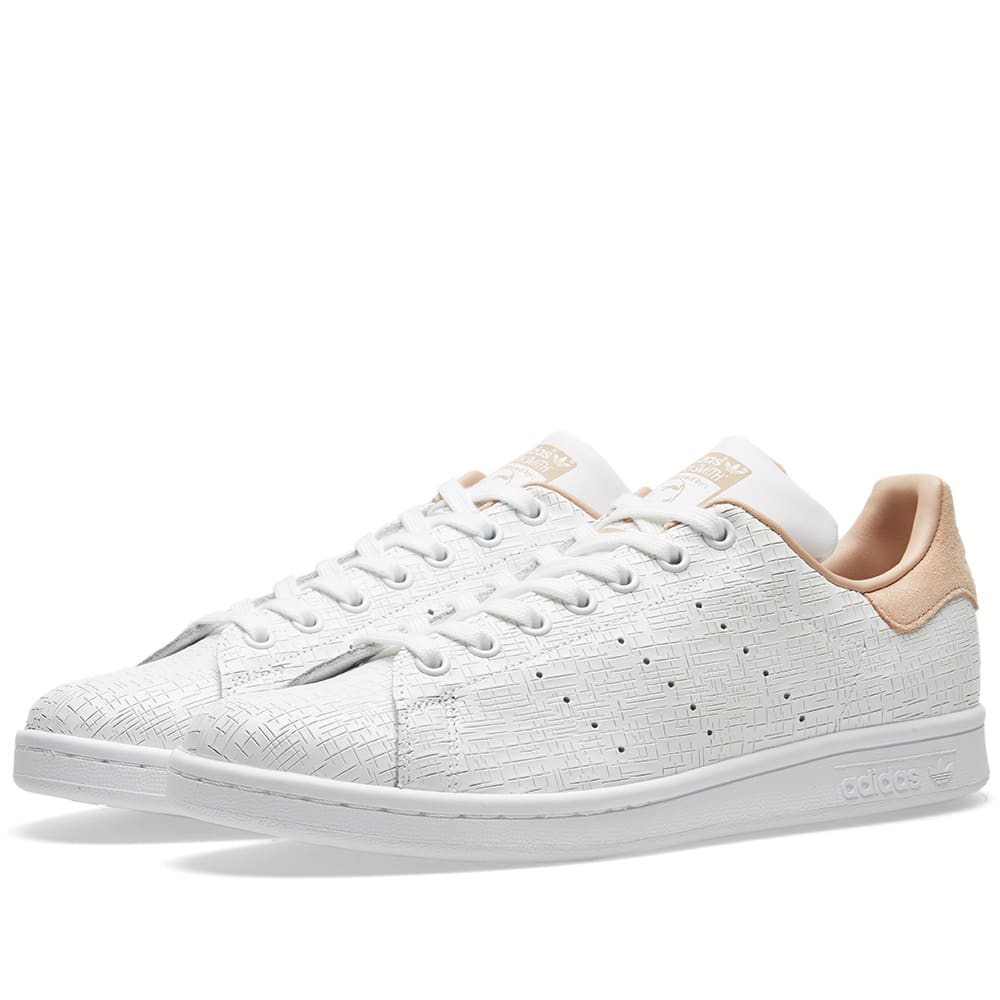 size 40 befaa d165f Adidas Stan Smith W White   Ash Pearl   END.