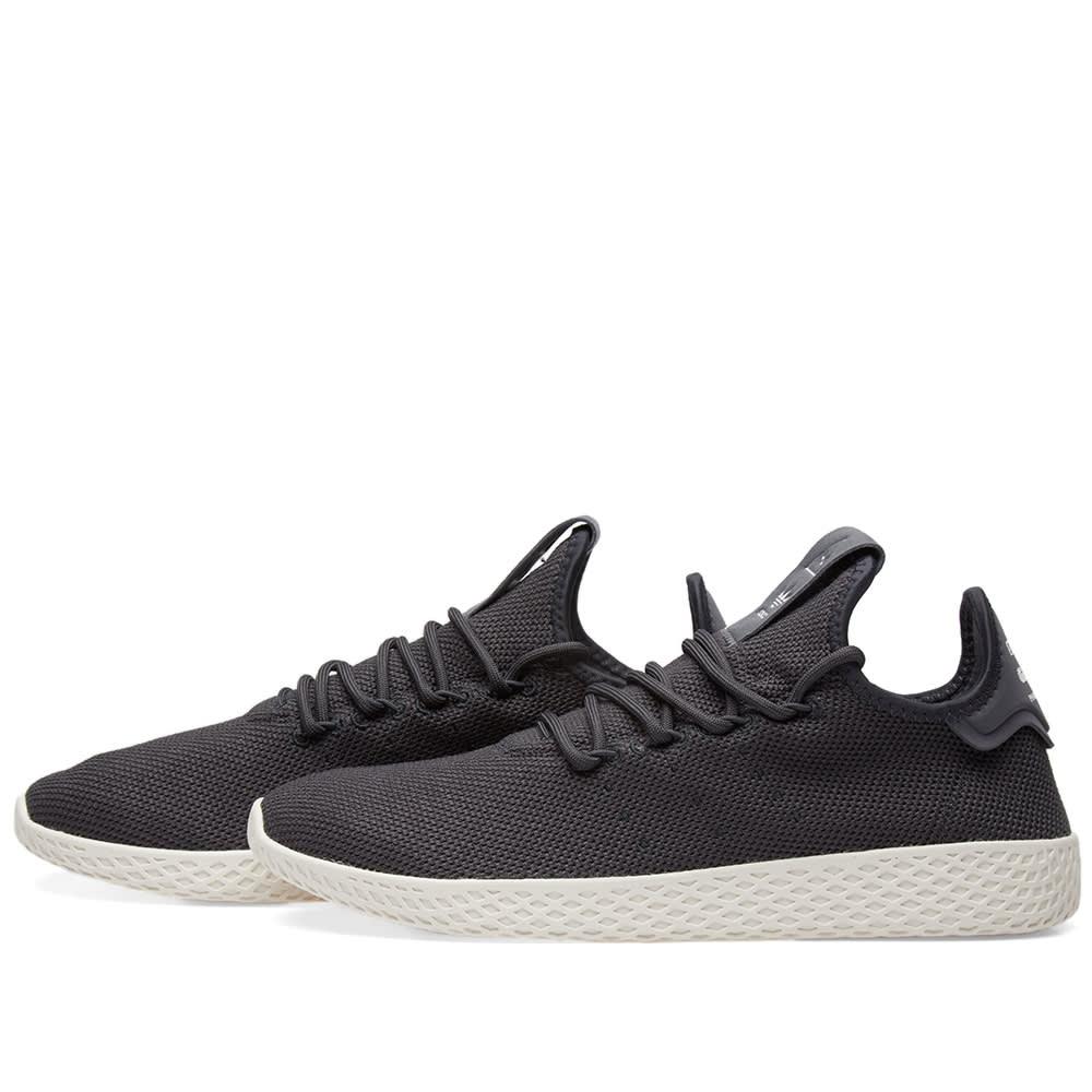 3110e7bbfa47e Adidas x Pharrell Williams Tennis Hu Carbon   Chalk White