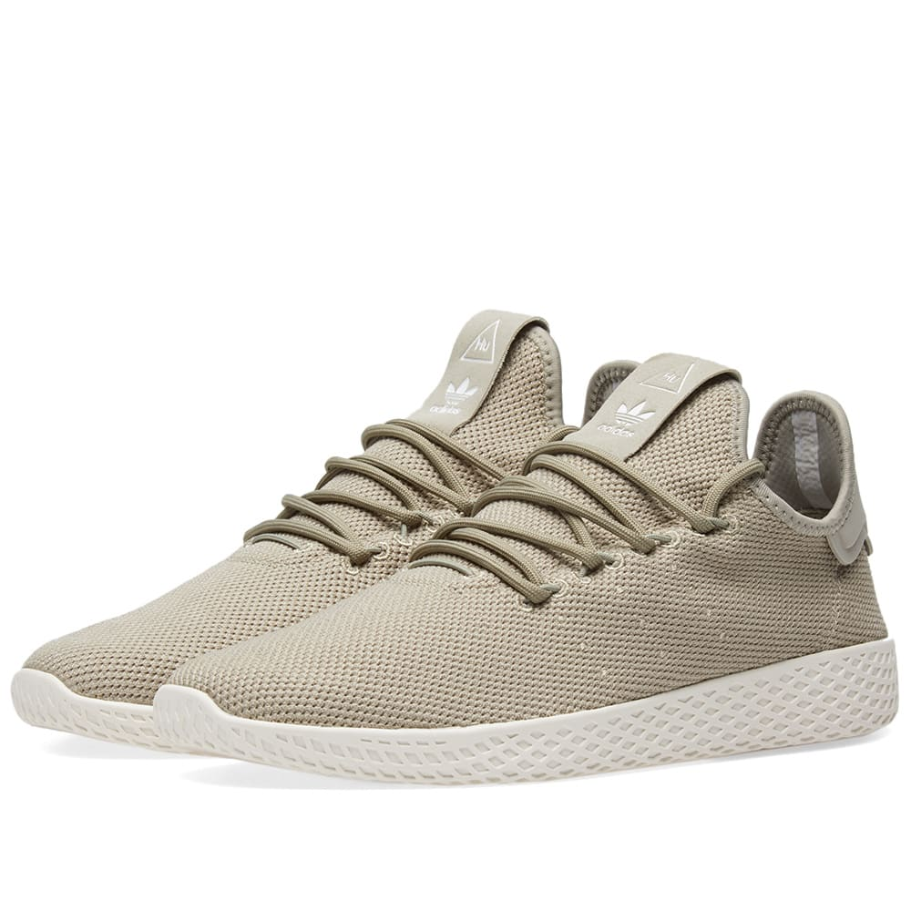 699073fd4c3c5 Adidas x Pharrell Williams Tennis Hu Tech Beige   Chalk White