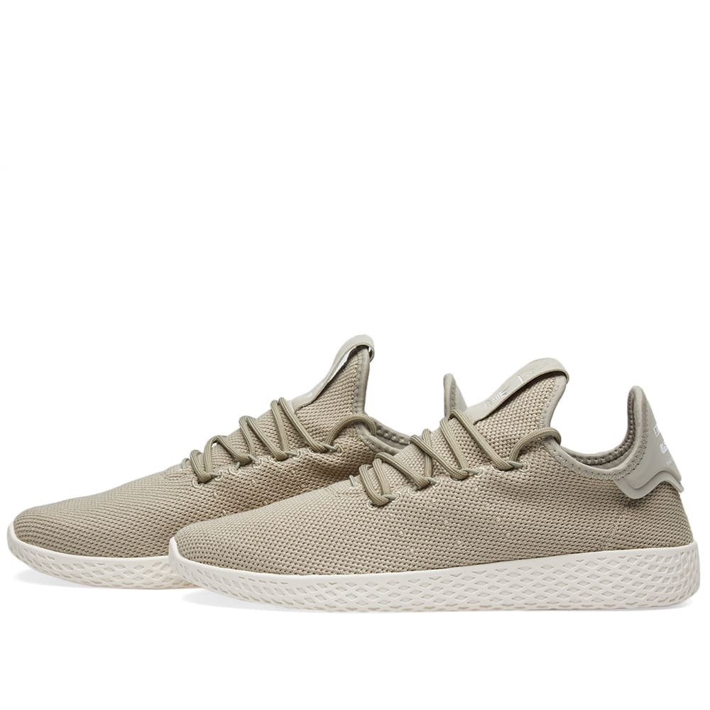 72a9f316a Adidas x Pharrell Williams Tennis Hu Tech Beige   Chalk White