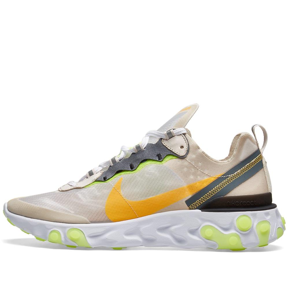 0ec7979838cdf Nike React Element 87 Light Brown