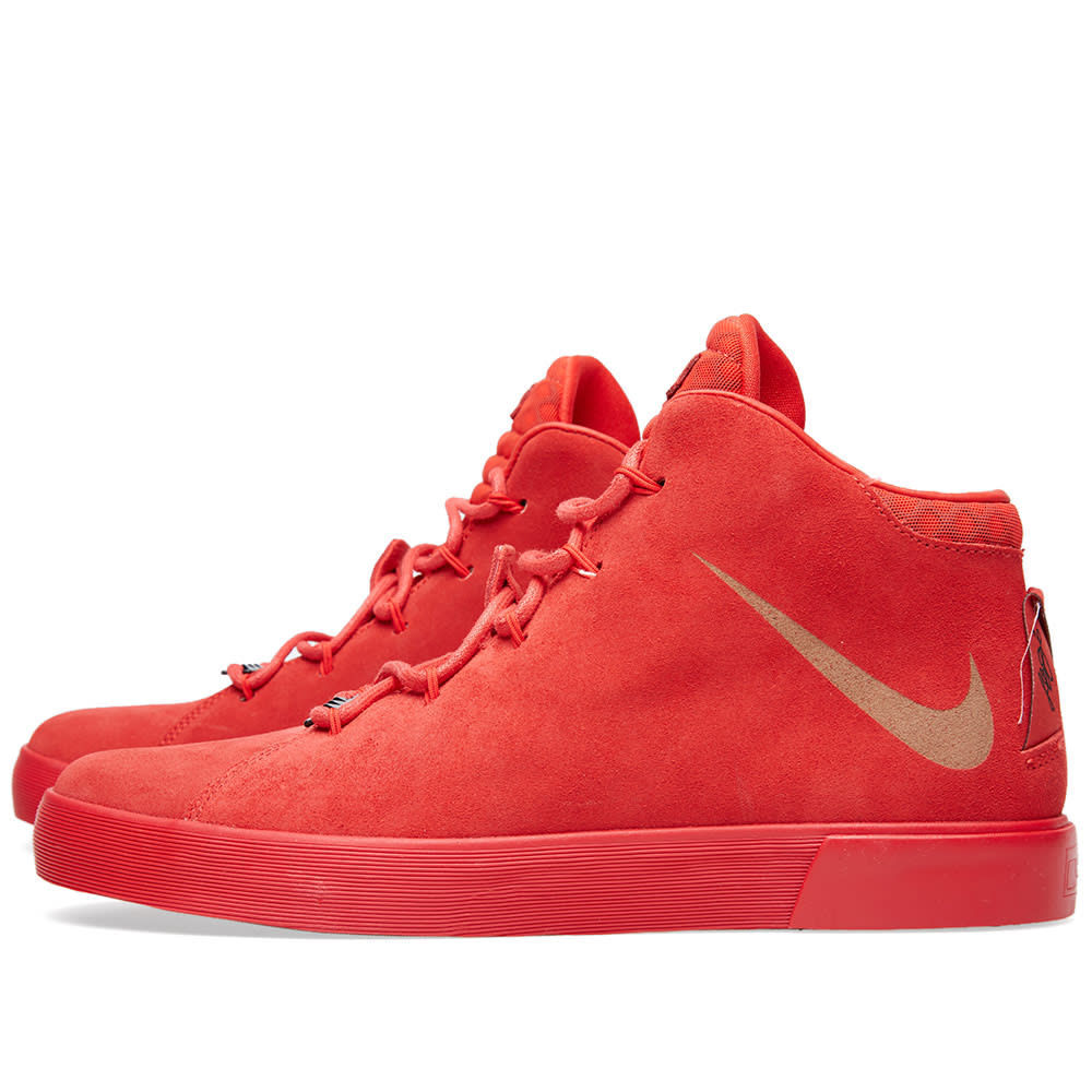wholesale dealer 70002 e6c4f Nike LeBron XII NSW LIfestyle QS Challenge Red   END.