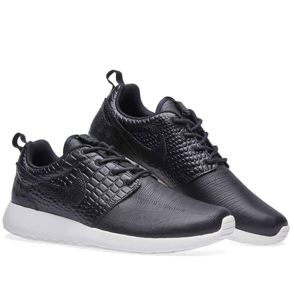 37ed3ac282385 Nike W Roshe One LX Black   Ivory