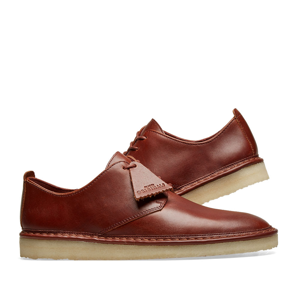 ae66c717631 Clarks Originals Walbridge Lace. Brown Leather