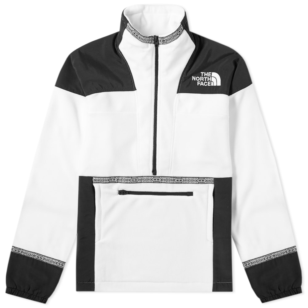 The North Face 92 Rage Fleece Anorak White Rage Combo   END.