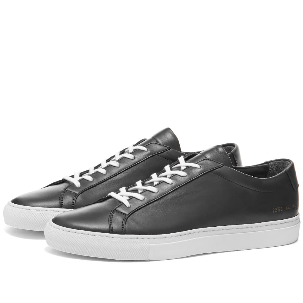 Common Projects Achilles Low White Sole