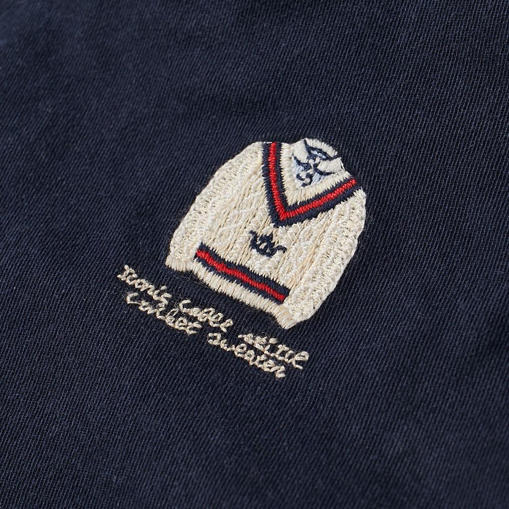4b8487c4e3030 Polo Ralph Lauren Embroidered Bear Chino Short Aviator Navy   Cricket