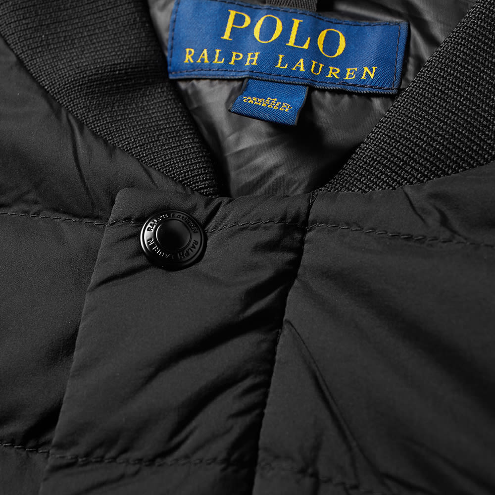 Bomber Jacket Ralph Polo Down Lightweight Lauren shdrtQ