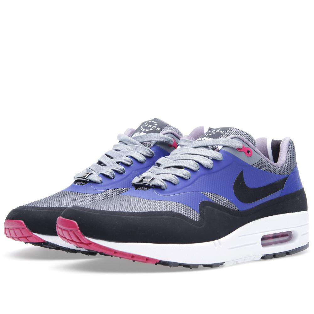 Nike Air Max 1 London Qs Cool Grey Black End