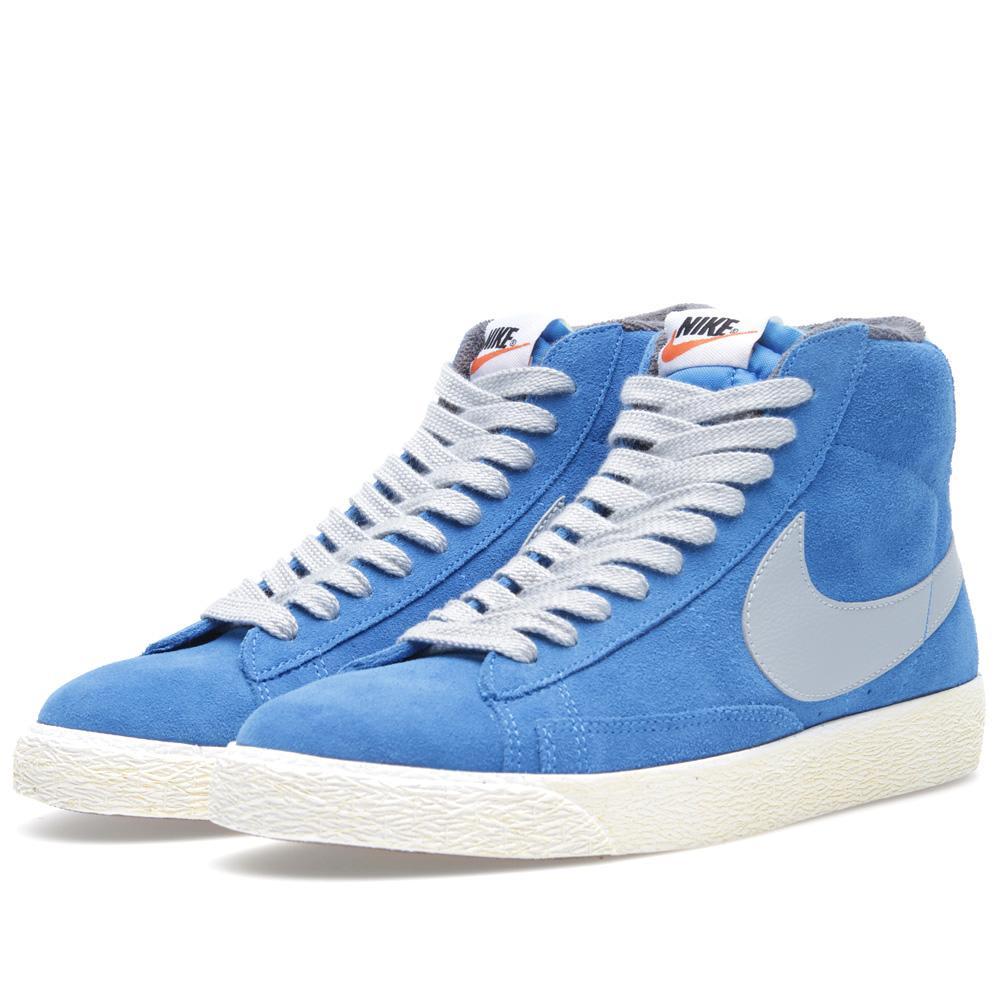 uk availability a0871 4368c Nike Blazer Mid PRM VNTG Suede