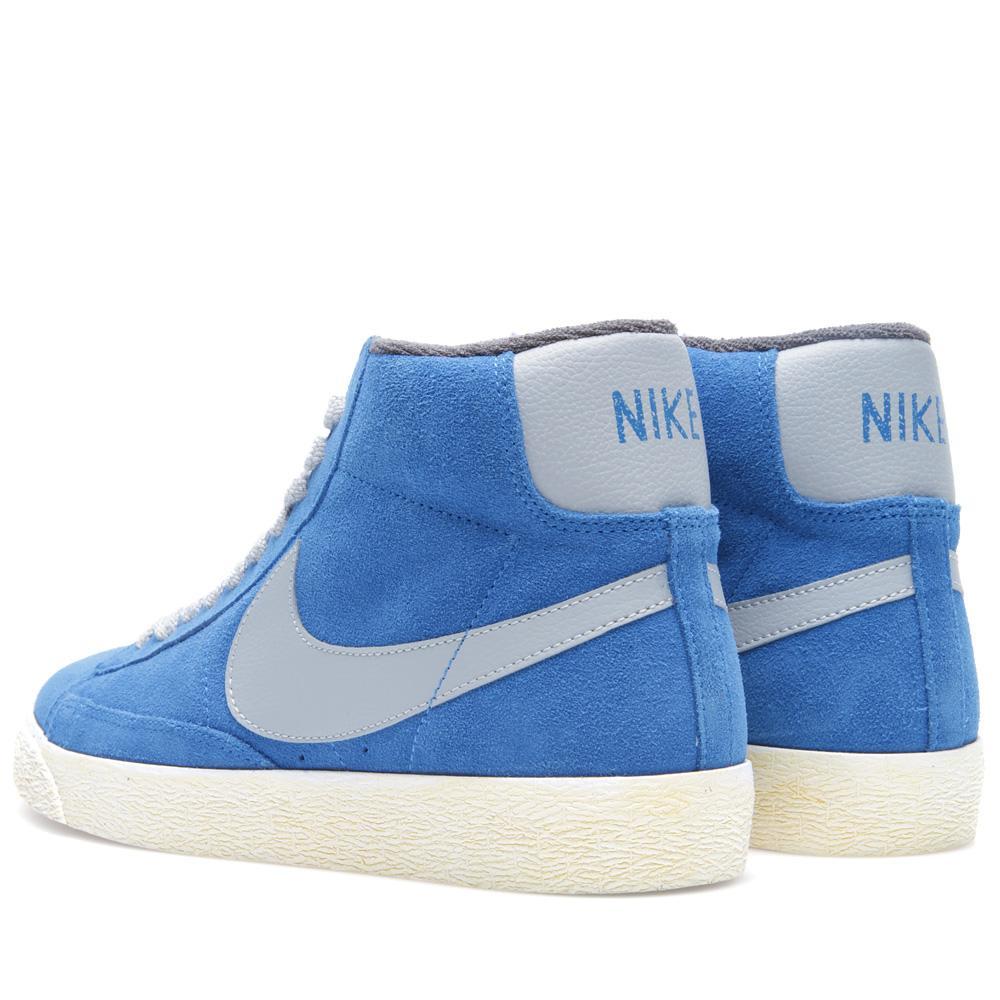 uk availability 6836b bfd90 Nike Blazer Mid PRM VNTG Suede