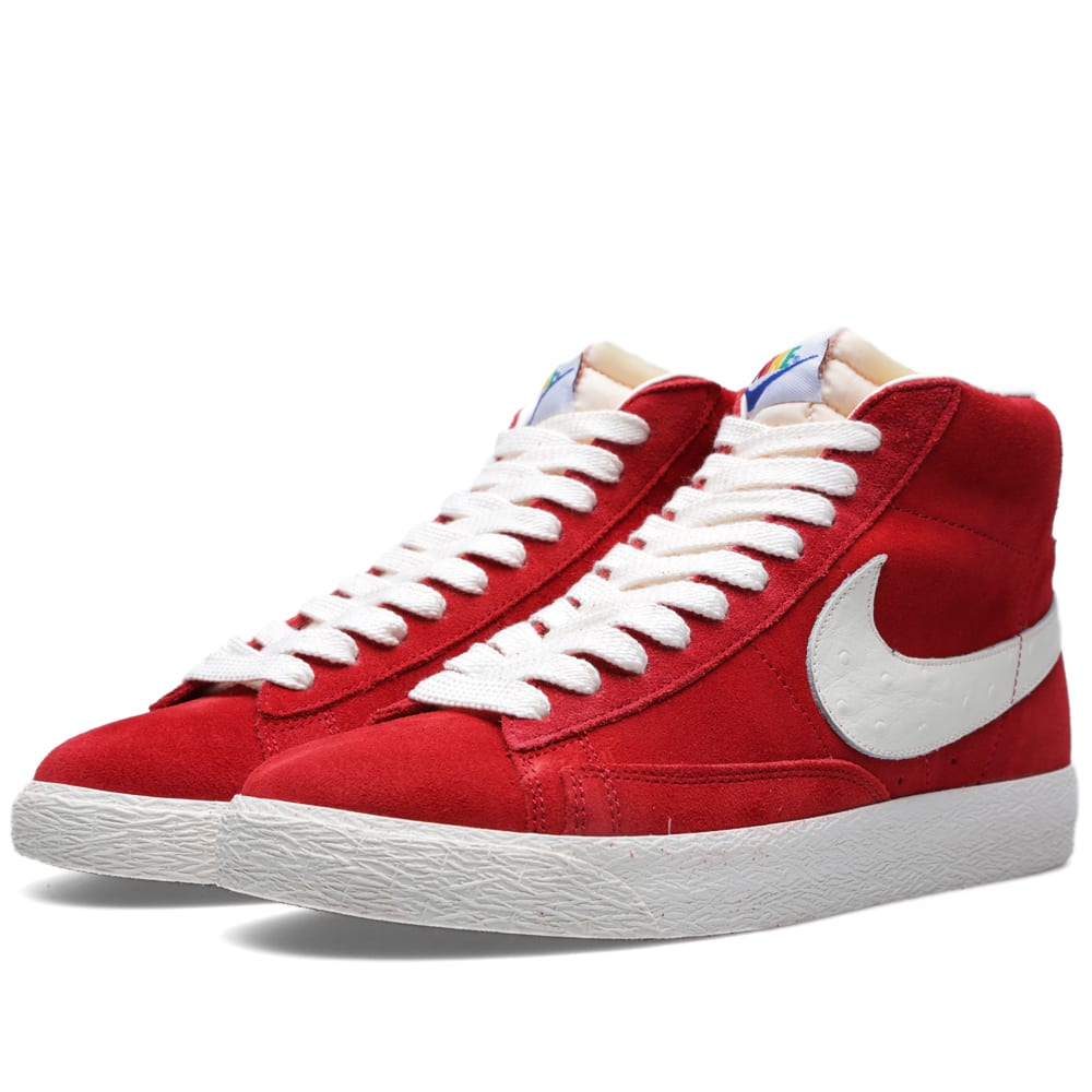 detailed pictures e81cf 72d23 Nike Blazer Mid PRM VNTG QS  Rainbow  Varsity Red   END.