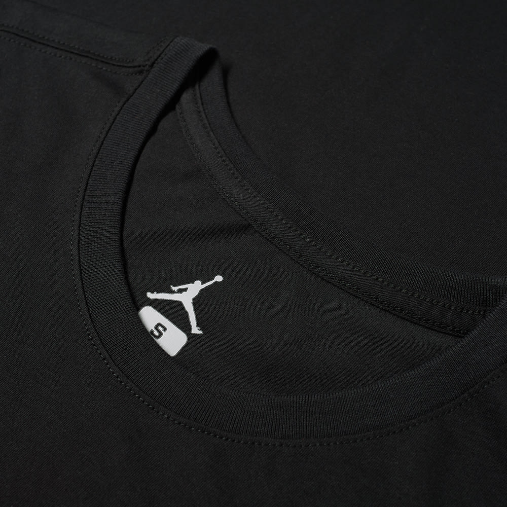 839baf5f935011 Air Jordan Iconic Jumpman Tee Black   Infrared 23
