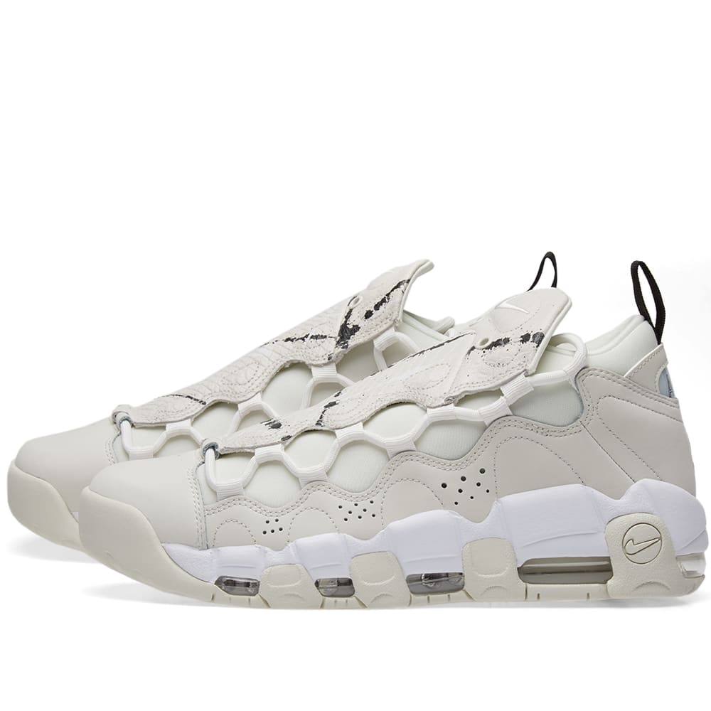 newest 45c61 b9e2a Nike Air More Money W Phantom, Summit White   Black   END.