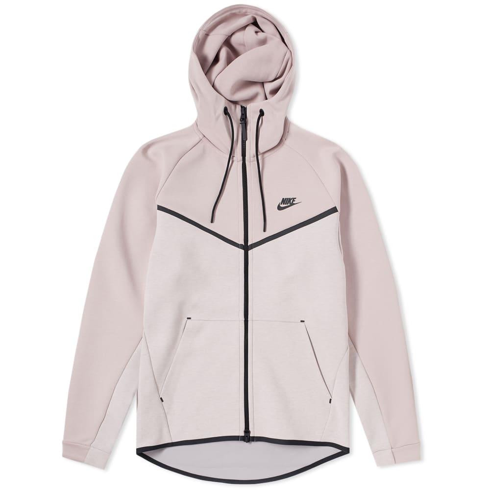 online retailer 0dfc1 6207f Nike Tech Fleece Windrunner Hoody Particle Rose, Heather   Black   END.
