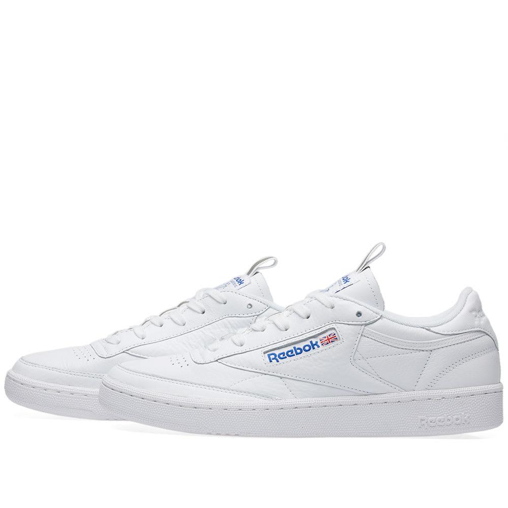 0bb02500eb6 Reebok Club C 85 RT White