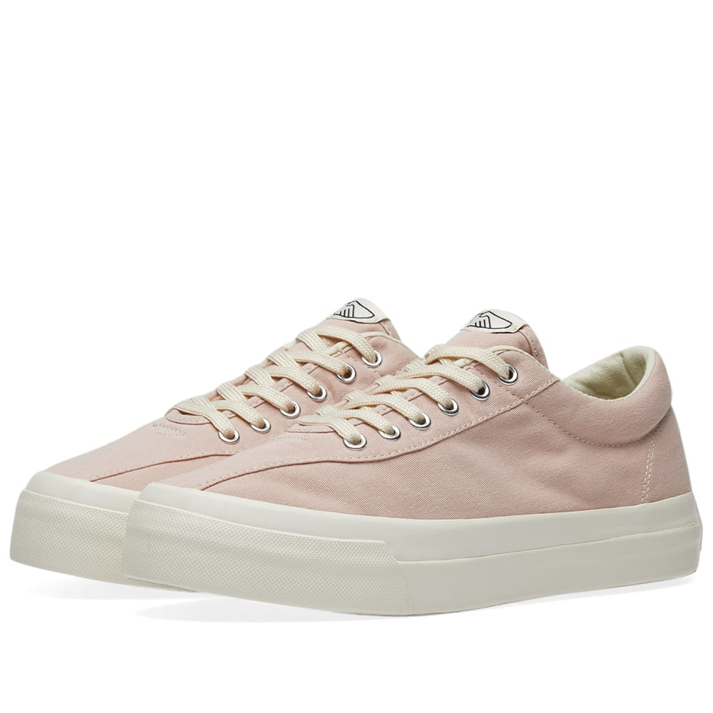 STEPNEY WORKERS CLUB Stepney Workers Club Dellow Canvas Sneaker in Pink