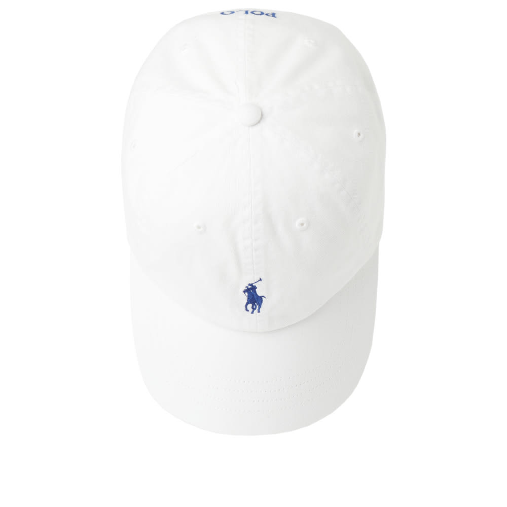 089f2688bec Polo Ralph Lauren Classic Baseball Cap White   Marlin Blue