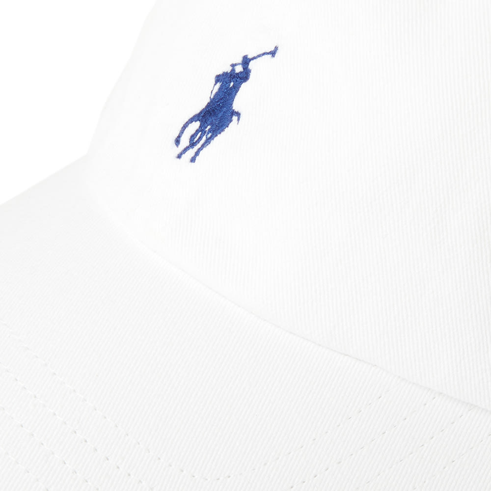 3d596c97124d9a Polo Ralph Lauren Classic Baseball Cap White & Marlin Blue | END.