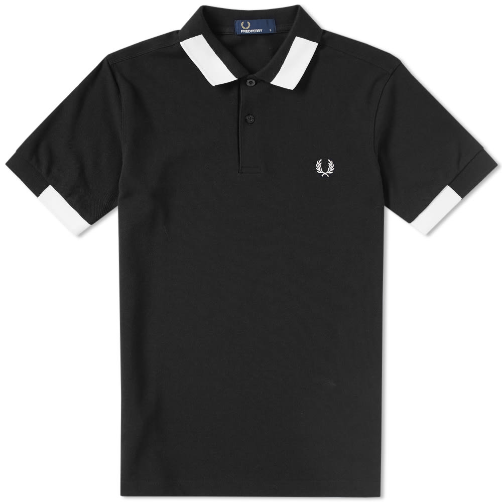 c248e9c20 FRED PERRY Block Tipped Pique Polo